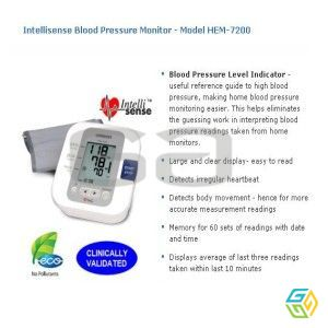 BLOOD PRESSURE MONIROR