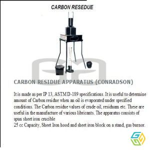 CARBON RESIDUE