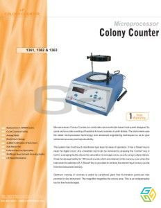 COLONY COUNTER 1361/1362/1363