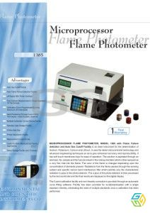FLAME PHOTOMETER