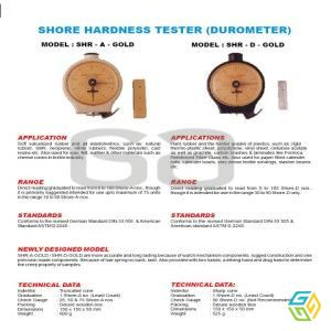 HARDNESS TESTER FOR RUBBER