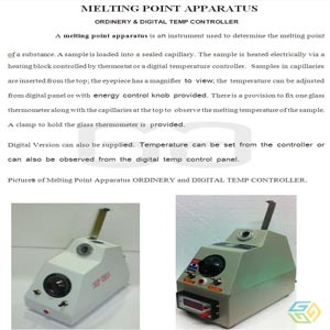 MELTING POINT APPARATUS DV