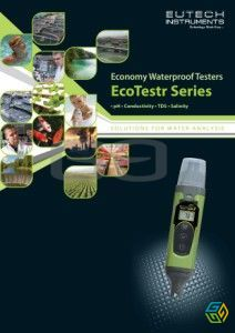 pH ECO TESTER 1 AND 2