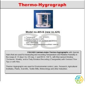 THERMO HYGRO GRAPH AND DATA LOGGER