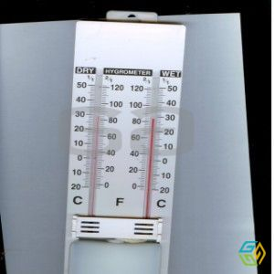 THERMOMETER WET AND DRY