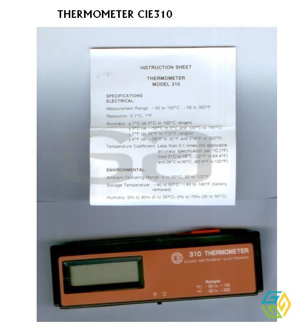CIE 310 thermometer