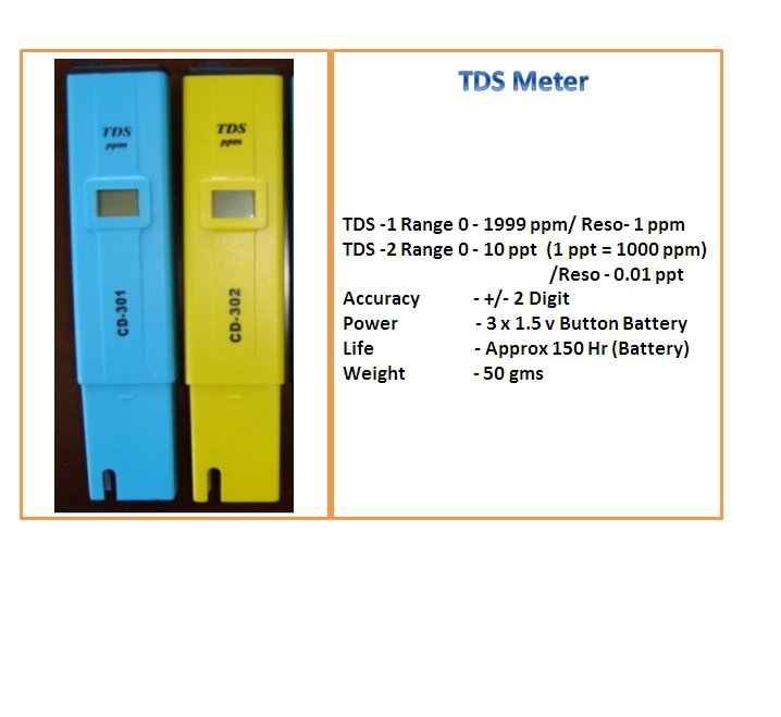 TDS CD 301 and 302