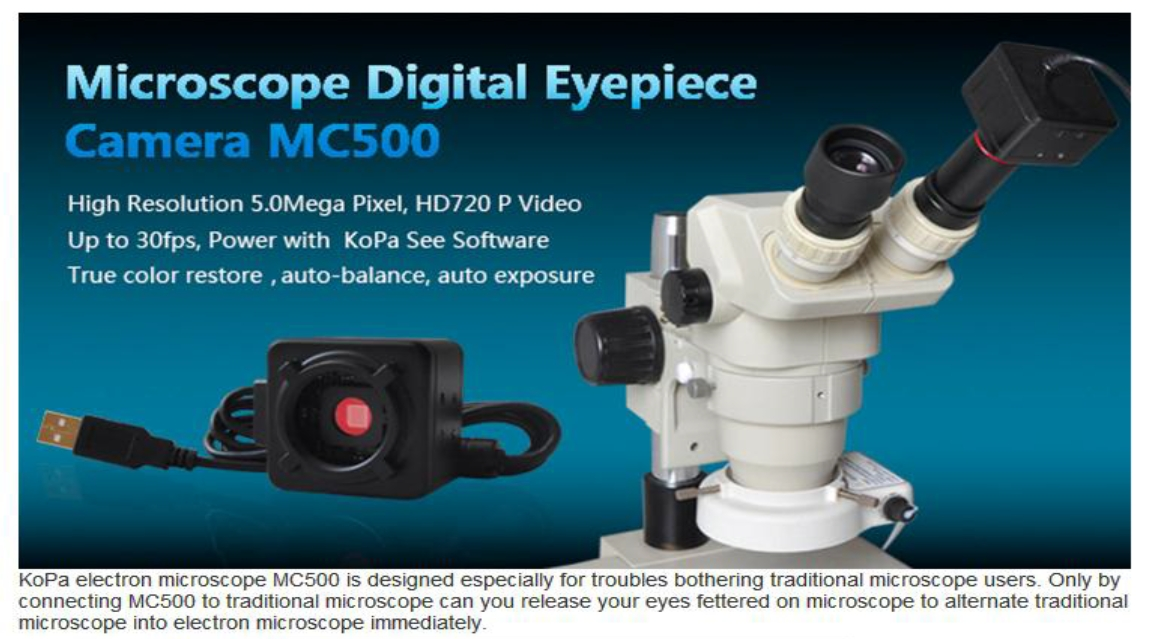 MC 500 Eyepiece Camera