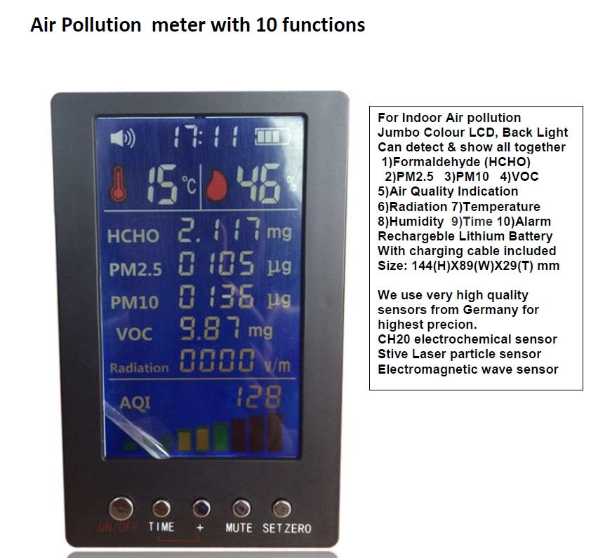 AIR QUALITY METER COMBO