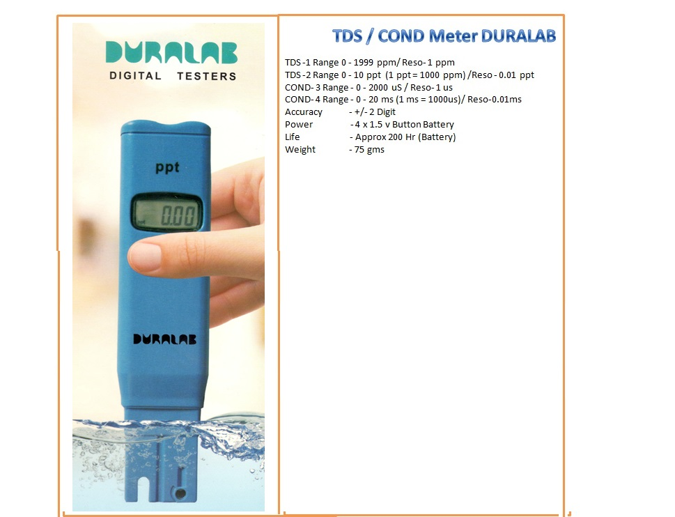 DURALAB TESTER 3 and 4